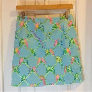 Lilly Pulitzer Birds & Bamboo Skirt